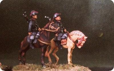 GC13 Mounted Schutztruppen on horse