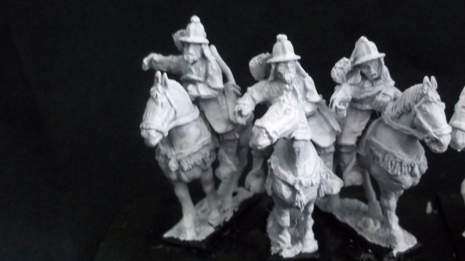 AH16 Heavy Cavalry with open hands Kettle style helmets Korean / Ming Chinese