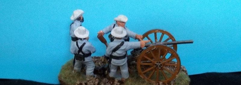 SAW51 Spanish Gun and crew