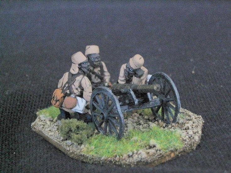 GC11 Askari mountain gun and three crew