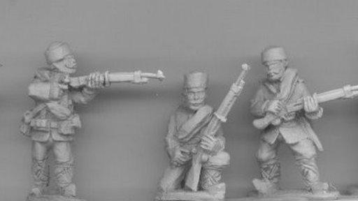 BWB04 Bulgarian Volunteer/Irregular Infantry