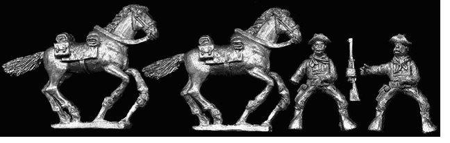 SAW16 Mounted U S Cavalry