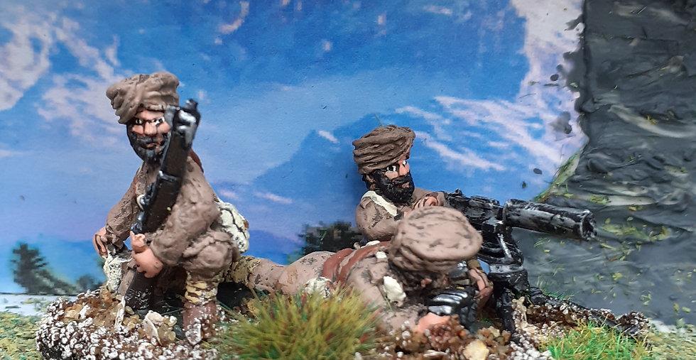 BC 14 Sikh M/G Team
