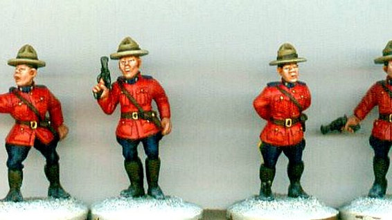 MP01 Mounties in classic style