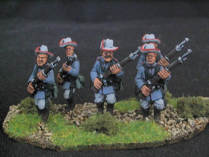 GC03 German Schutztruppen advancing high port.