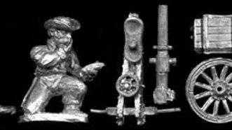SAW50 Spanish mounted gun and 2 crew