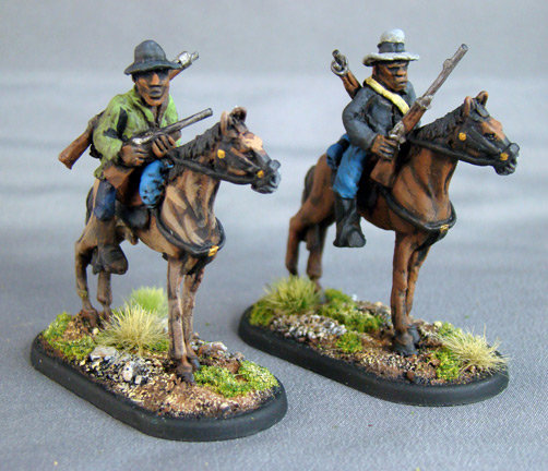 GC25 Mounted Herero with rifles