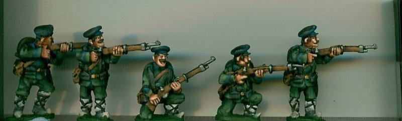 BWB02 Bulgarian Infantry Firing