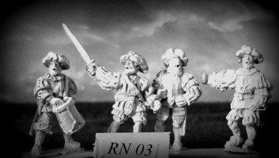 RN03 Mercenary / Landsknecht foot Command