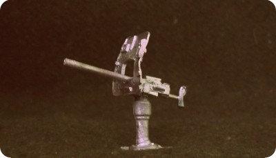 EX15 75mm Naval Quick Fire Gun on Deck mounting