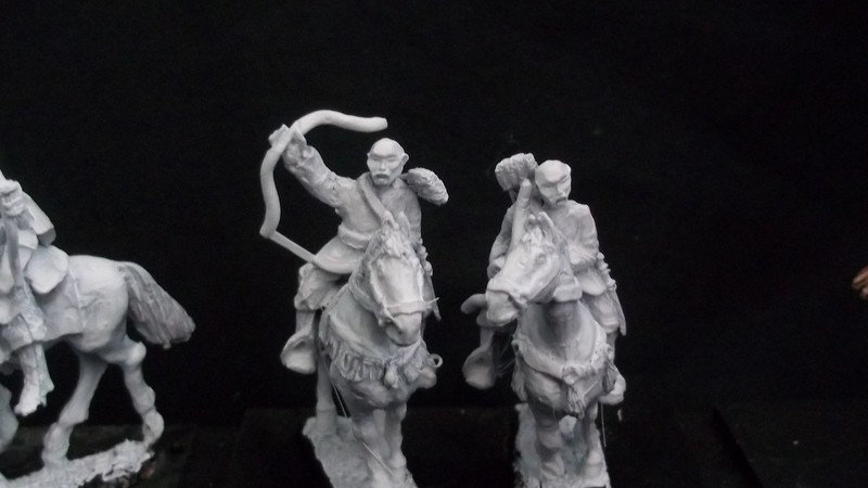 AH14 Mounted warrior monks with bow