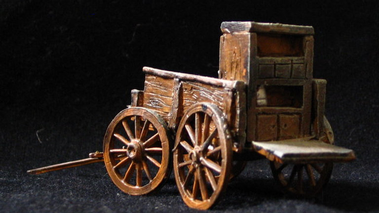 EX04 Chuck Wagon [ unpainted - needs simple assembly]