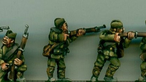 BWS02 Serbian Infantry in action.
