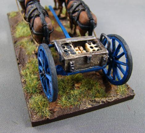 EX07 Artillery Limber Open