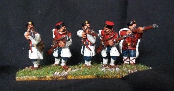 BWM04 Montenegrin Irregular Infantry