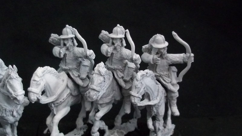 AH17 Heavy Cavalry with bow, Kettle style helmets Korean / Ming Chinese