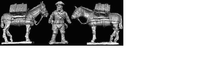 SAW22 U S Pack Mule