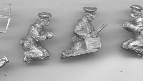 BWB07 Bulgarian Machine gun Team [ 2 per pack]