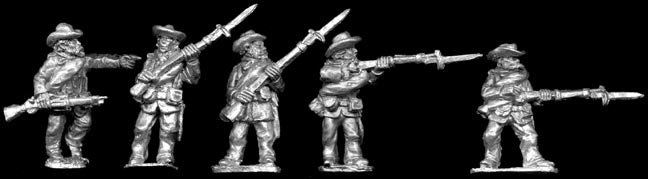 SAW28 Spanish Infantry in Slouch hats