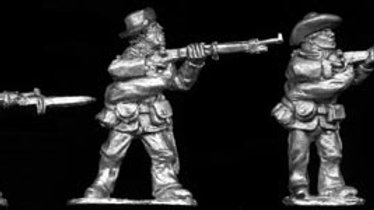 SAW26 Spanish Infantry in action in slouch hats