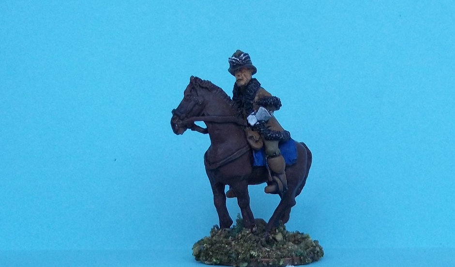 BC33 Mounted Officer in poshteen