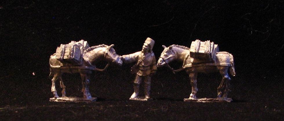 GC10 Askari supply mule team