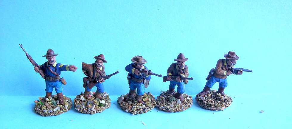 SAW2 Rough Riders [5 different figures]