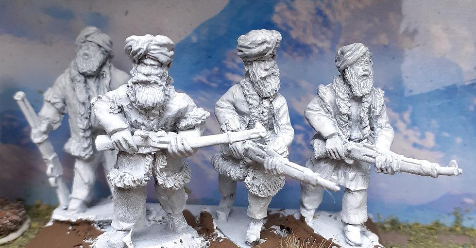 NWF 21 Tribesmen with Rifles