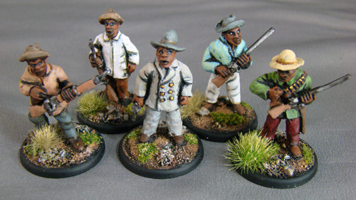 GC23 Hereo / Hottentot characters