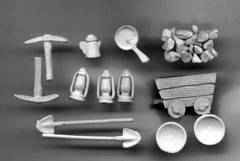 MPA 1 Miners / prospectors Equipment