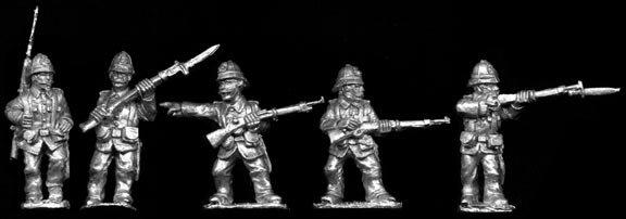 SAW31 Spanish Infantry in Sun Helmets