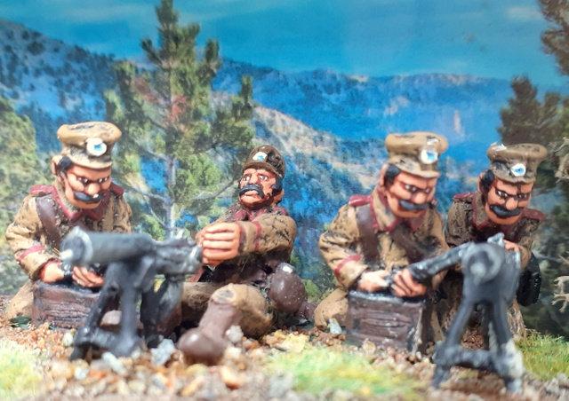 BWG07 Greek Machine Gunners [2 teams]