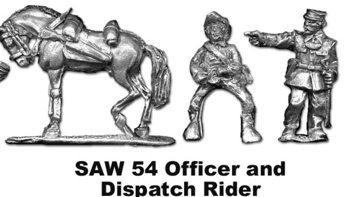 SAW54 Spanish Captain with Dispatch rider