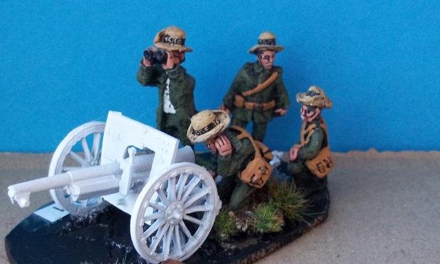 EJ 11 KNIL Gun Crew