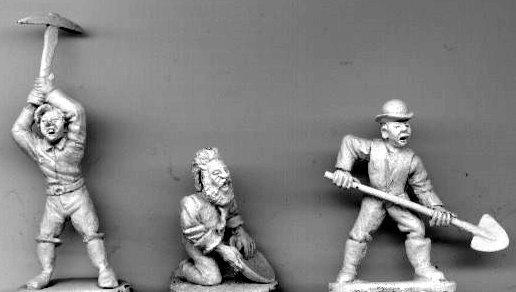 MP 17 Three Prospectors / Miners