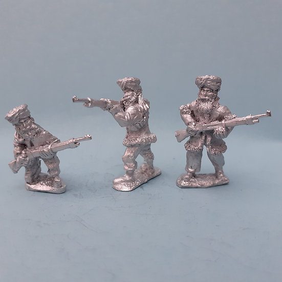 NWF 20 Tribesmen with rifles set A