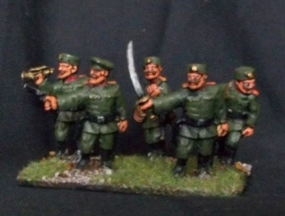 BWM03 Regular Infantry Command