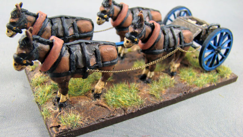 EX03 2 Harness mules