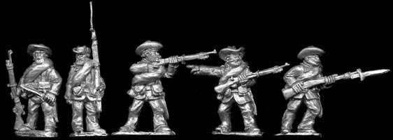 SAW27 Spanish Infantry in Slouch hats