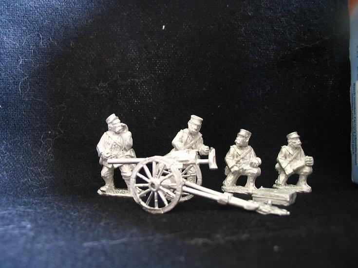 SAW19 US Marine Landing Gun and crew