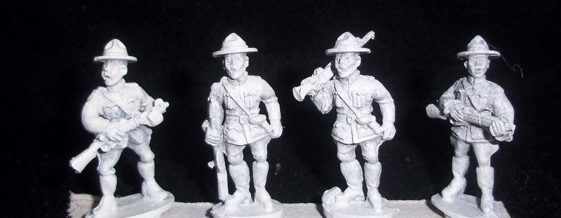 MP 07 Mounties with Rifles