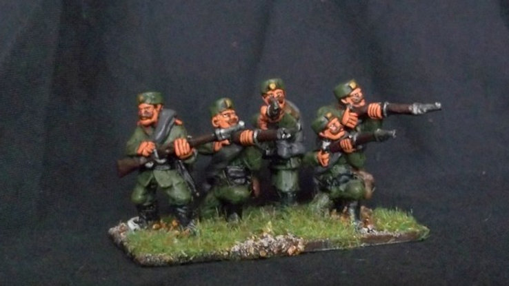 BWM02 Montenegrin Infantry Firing