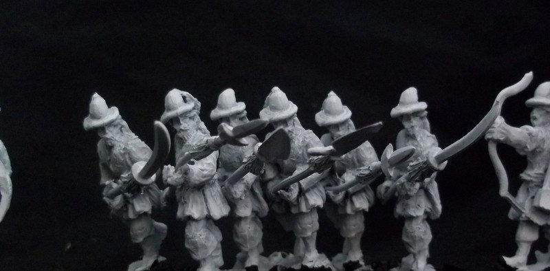 AH07 Korean Garrison foot armed with pole arms