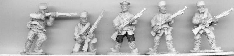 BWB05 Bulgarian Irregulars - partizan / irregular infantry