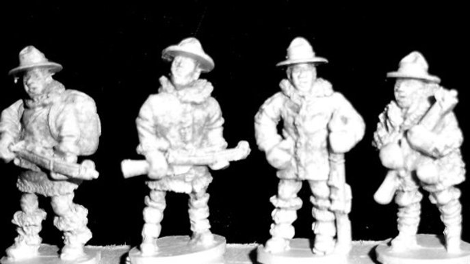 MP 08 Mounties in Cold-weather gear