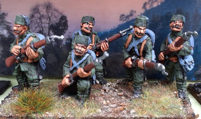 BWT04 Turkish infantry in 1908 uniform