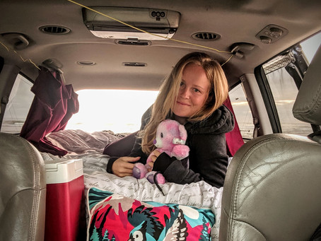 I lived in a minivan for a year
