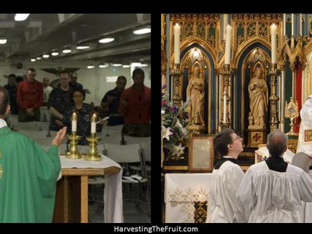 Novus Ordo vs Traditional Latin Mass in North and Central America