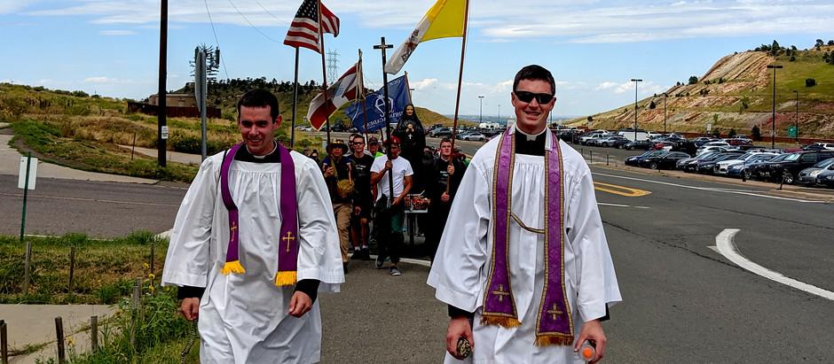 In the shoes of a pilgrim; 2019 Cabrini Pilgrimage, Denver