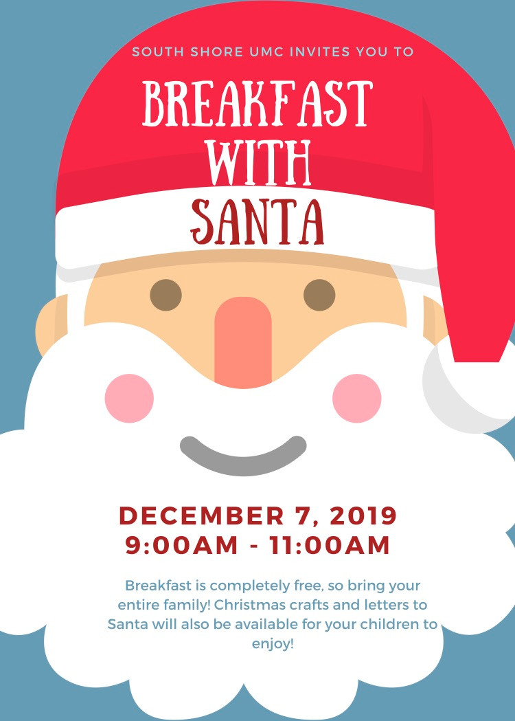 Join us for FREE Sausage and Pancake breakfast, take photos with Santa, make Christmas Crafts and Write a Letter to Santa!